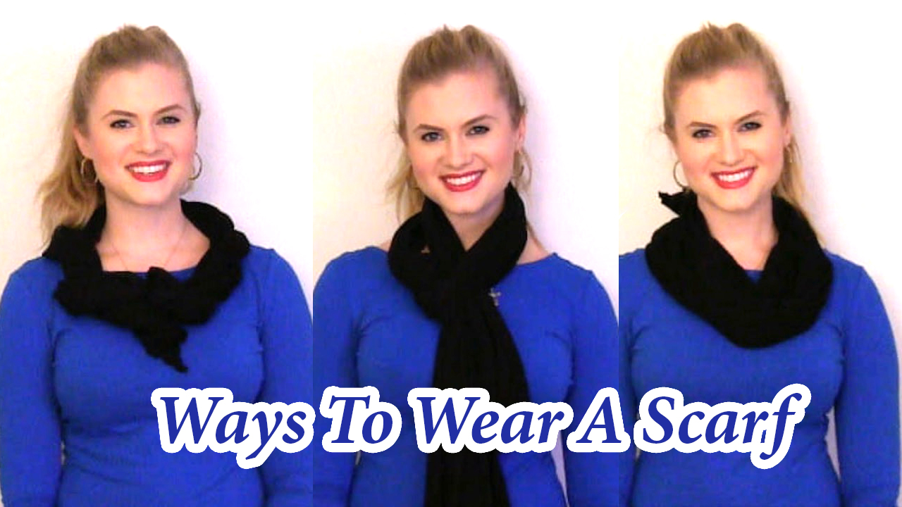 VIDEO | 7 Ways To Wear A Scarf
