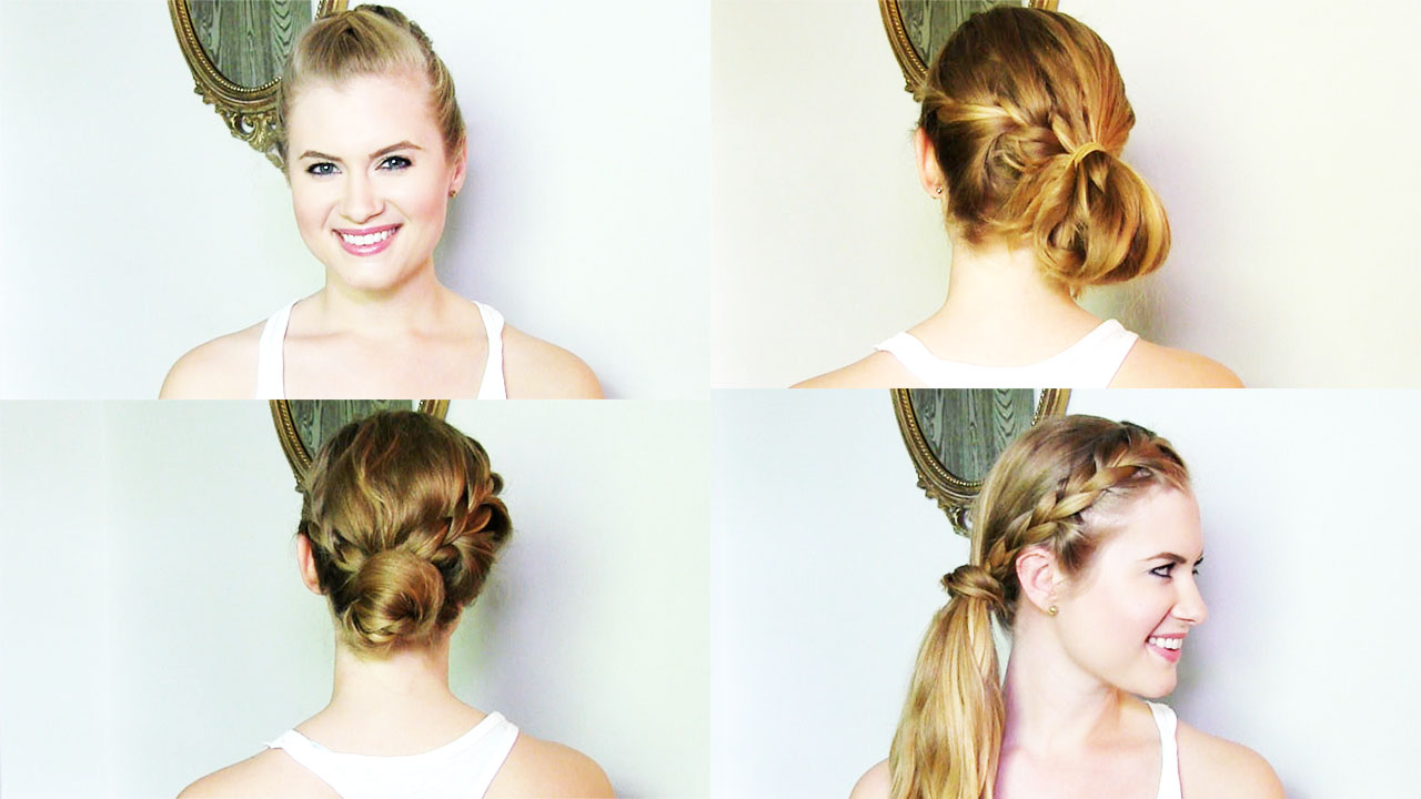 VIDEO | Braided Updos For Summer