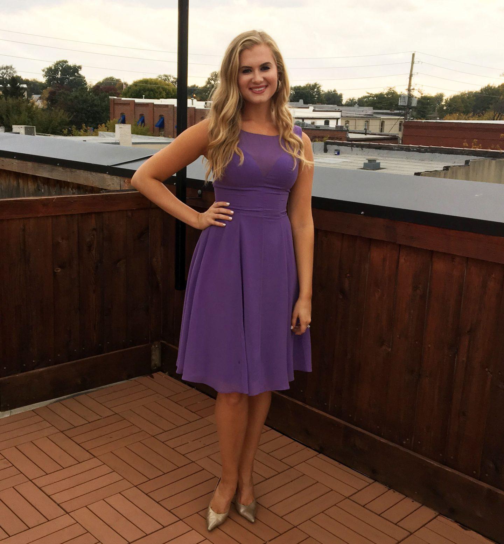 ootd-wedding-guest-purple-flowy-dress