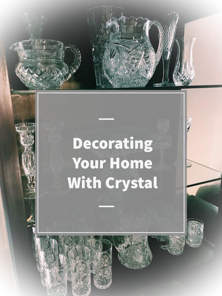 crystal home decor
